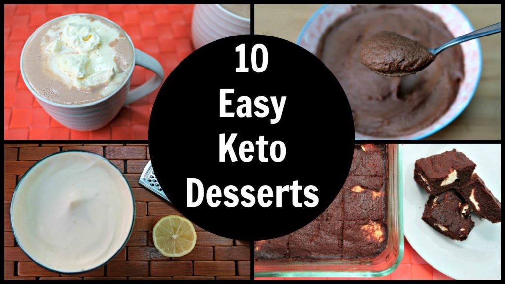 10 Easy Keto Desserts