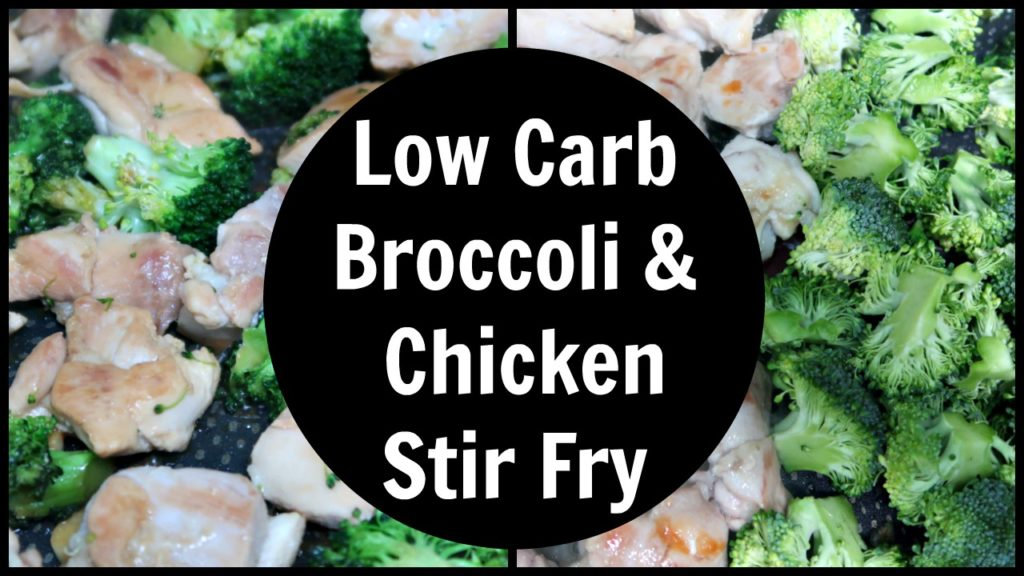 Broccoli & Chicken Stir Fry Recipe – Low Carb, Keto & Paleo