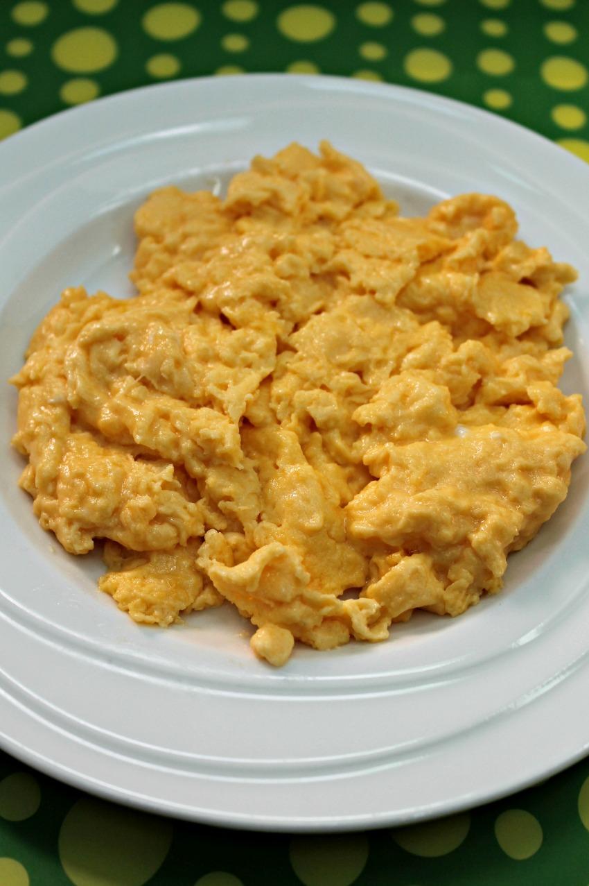 Mascarpone Scrambled Eggs Recipe Easy Low Carb Keto
