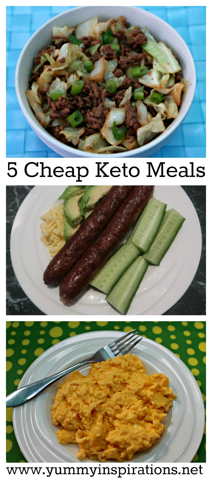 5 cheap keto meals low carb keto diet foods on a budget for Quick and easy low carb dinner recipes