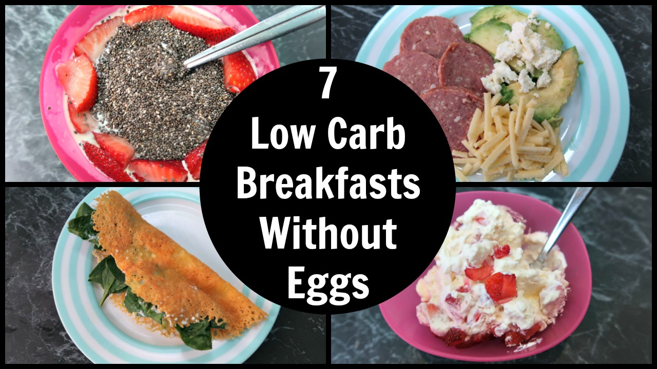 7 Low Carb Breakfast Without Eggs - Easy Keto Breakfasts With No Eggs