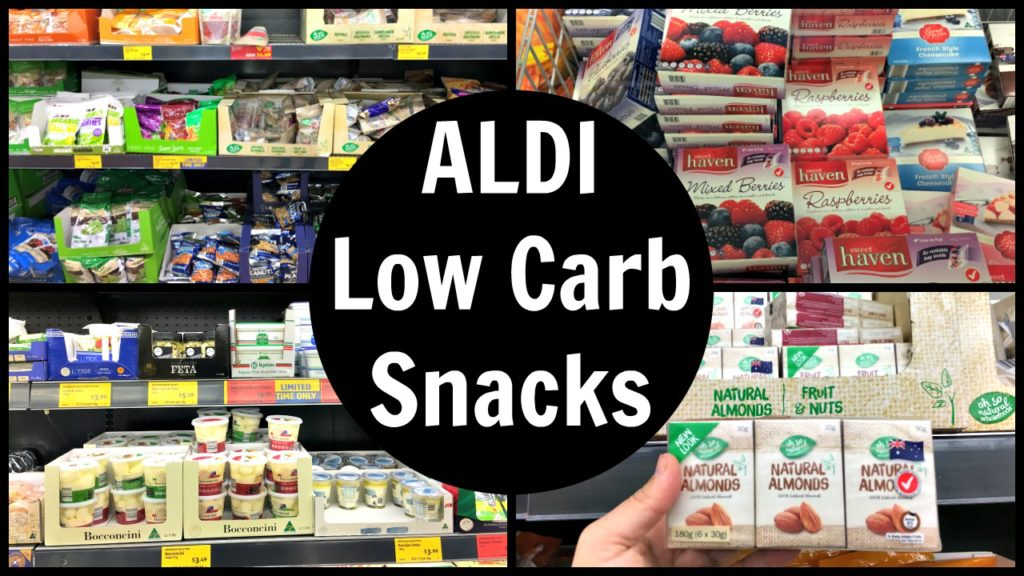 ALDI Low Carb Snacks List