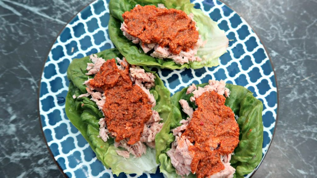 Keto Tuna Salad Wraps