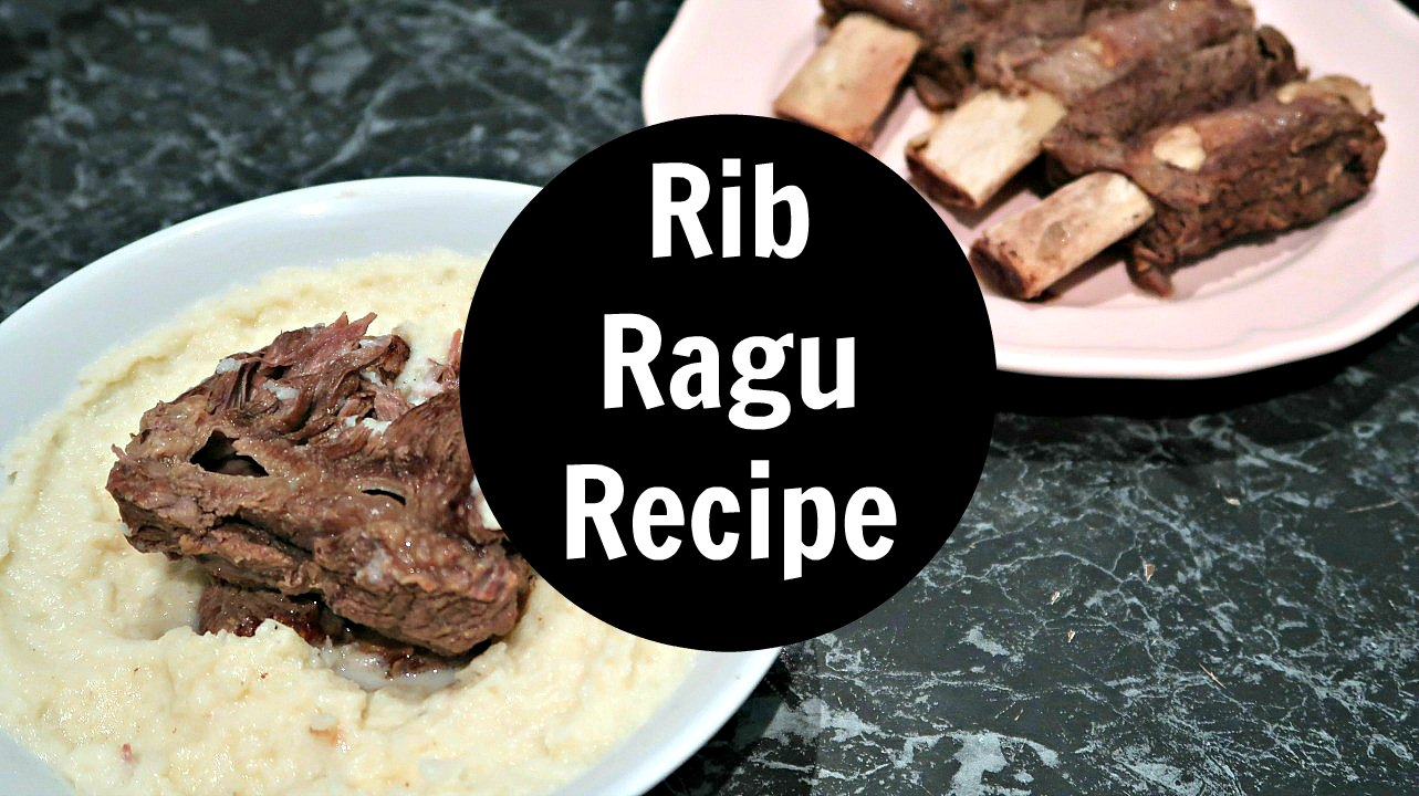 Rib Ragu Recipe - Low Carb Keto Diet Winter Meals - inspired by the hearty Nigel Slater recipe and made into a healthy Ketogenic Diet friendly low carb comfort food.