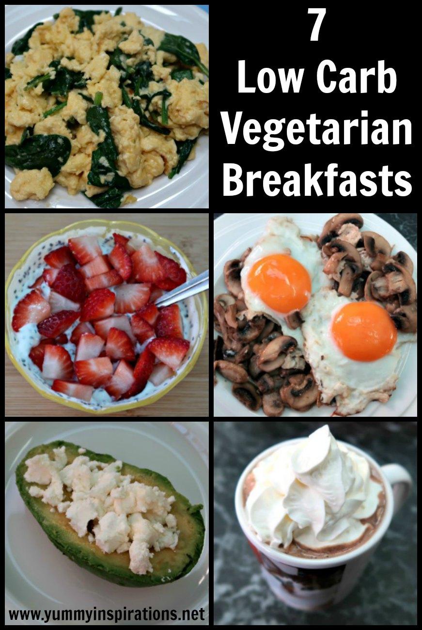 7 Keto Vegetarian Breakfast Recipes - A Week Of Easy Low Carb Diet Plan Vegetarian Breakfasts ...